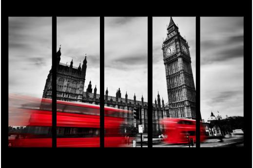 Модульная картина Лондон